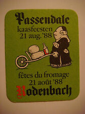 Beer Bar COASTER: Browerij RODENBACH 1988 Passendale Festival of Cheese; BELGIUM