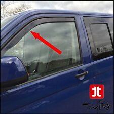 Déflecteurs de vent pluie air teintées VW T5 T6 Transporter Caravelle Multivan