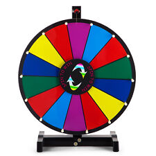 "24""/60cm Color Prize Wheel of Fortune Editable Dry Erase Spinning Game Tradeshow"