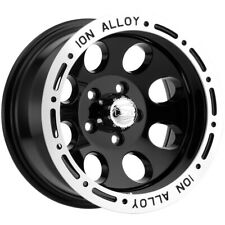 "Ion 174 15x8 5x4.5"" -27mm Black Wheel Rim 15"" Inch"