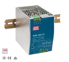 Meanwell NDR-480-48 480W 48V dc 10A DIN Rail Switching Power Supply
