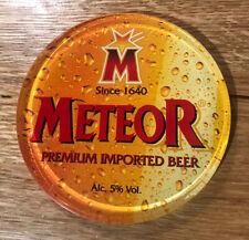 Meteor Imported Beer Pump Badge
