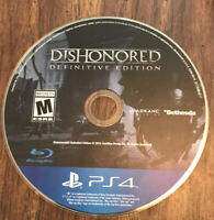 Dishonored: Definitive Edition Ps4 PlayStation 4 Game Disc Only 60m