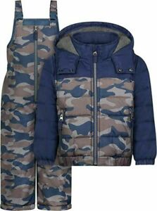 Osh Kosh B'gosh Boys 2pc Snowsuit Size 2T 3T 4T 4 5/6 7