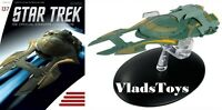 Star Trek Xindi Humanoid Ship Eaglemoss Starship w/Magazine Iuuse 137