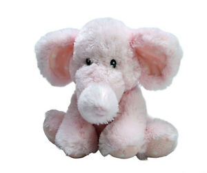 Russ Berrie Baby Pink Elephant Elliefumps Washed Plush Soft Stuffed Toy 28cm