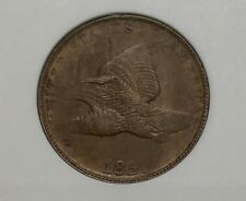 1857 USA 1 Cent Flying Eagle Cents One Cent Copper Nickel ANACS AU50 Penny Coin