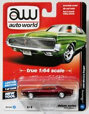 1969 MERCURY COUGAR * ULTRA RED CHASE * 2017 AUTO WORLD * DELUXE SERIES R 1 V A