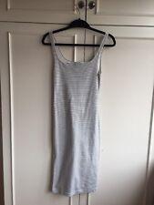 Zara Striped Bodycon Midi Dress - Size XS