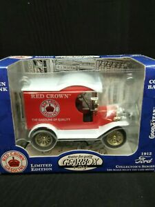 Gearbox LE Remington Country 1912 Ford Model T Delivery Car Coin Bank 1:24 NIB