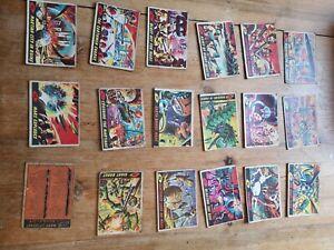 Mars attacks cards 1960s.