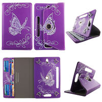"""PP Butterfly Style tablet case 7 inch for universal 7"""" 7inch android Cover Cases"""