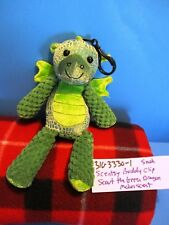 Scentsy Buddy Scout the Green Dragon Melon Scent Clip plush(310-333-01)