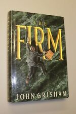 SIGNED! The Firm by John Grisham. 2nd Print, Very Good. (1991 Hardcover)