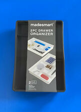 Madesmart 2 Pack Desk Drawer Organizer