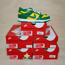 Nike Dunk Low Brazil (2020) Size 8.5, DS BRAND NEW