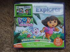 Leapfrog Leapster Explorer DORA EXPLORER Game case Leap Pad,2,3,GS,XDi Ultra