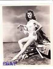 Janet Blair busty leggy VINTAGE Photo