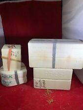 Lot Of 4 Duncan Ceramic Mold Hearts Pig Toothpick Holder Milk Jug Salt Shaker