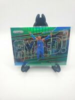 2018-19 Panini Prizm Green Prizm Get Hyped #1 Russell Westbrook Thunder