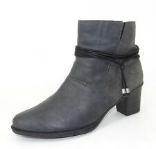 Rieker 70006-00 Schuhe Damen Antistress Winter Boots Stiefel Schnürschuhe black