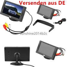 "4.3"" Zoll TFT AUTO KFZ LCD Screen Monitor f Rückfahrkamera Bildschirm Display EC"