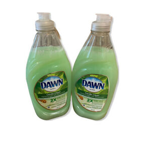 ~NEW~ Lot of 2 DAWN ULTRA DISHWASHING LIQUID Green Tea & Honey Scent 16.2oz
