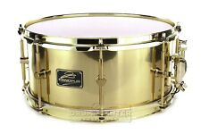 Canopus 'The Brass' Snare Drum 14x6.5 w/Brass Hardware
