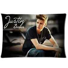 Customized New Justin Bieber Pillow Cover 20x30 Pillowcase One Side Print