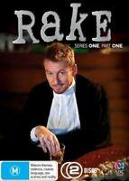 Rake Series 1 : Part 1 (DVD, 2010, 2-Disc Set) Region 4 Brand NEW Free Postage!