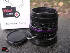 50mm F1.8 II Lens for SONY NEX E mount NEX3 NEX5 NEX6 NEX7 A6000 A6300 A6500