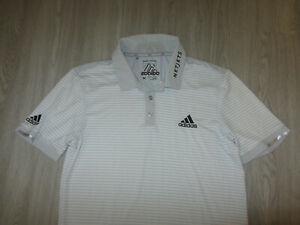 Authentic Dustin Johnson Adidas PGA Tour Player Issue Polo Shirt M Game Used MD