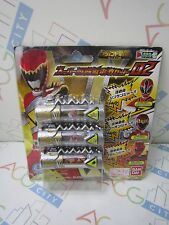 Power Ranger Zyuden Sentai Kyoryuger Dino Charge Legend Super Zyudenchi Set 02