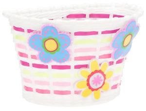 Schwinn Girls Bicycle Basket, Light-up Flowers