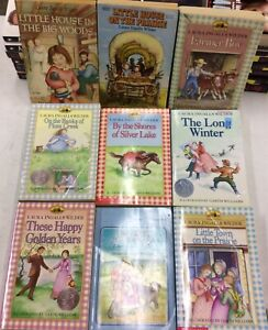 Lot of 9 Little House on the Prairie Laura Ingalls Wilder PB *Mixed Covers*
