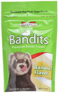 MARSHALL - Bandits Premium Ferret Treat Banana Flavor - 3 oz. (85 g)