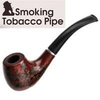 Smoking Pipe Durable Tobacco Vintage Wooden Pipes Cigar Cigarette unique AU