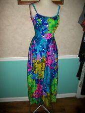 Deadstock Mint Cond Vintage 60'S 70'S Deweese Designs Bra Swimsuit Dress 8 30