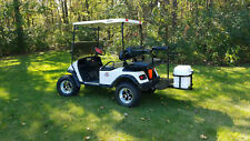 Golf cart Yamaha Ez-go Club car rear hitch cooler carrier with Igloo cooler