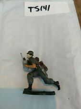 TS141 TOY SOLDIERS METAL WORLD WAR 2 GERMAN vintage 54mm 1:32 radioman Radio