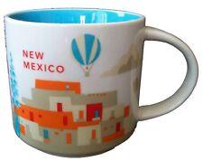 "2013 Starbucks New Mexico ""You Are Here"" Collectors 14 Oz. Mug, New, Free Shippi"