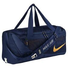 be37118e2f Nike West Virginia Mountaineers Vapor Air Max Duffel Bag 3174 CU in Navy  Blue