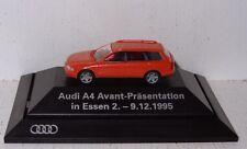 Rietze Audi A4 Avant Präsentation Essen 1995 limitierte Auflage 1:87 PC/OVP B23