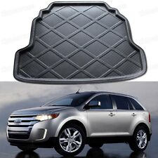 Black Car Rear Trunk Mat Cargo Boot Liner Tray for Ford Edge 2011 2012 2013 2014