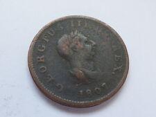 George III Half-Penny 1807 (myrefn7687ABC)