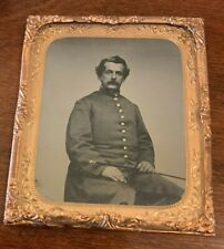 3 Tintype Photograph S Civil War Col Speese 36Th Vol 7Th Reserve Reg Pa #27