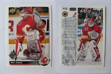 1992-93 Upper Deck #112 Mike Vernon 1/1 UD 30 buyback  flames 1 of 1
