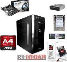 PC Desktop ASSEMBLATO AMD A4 4000 3.0 GHZ X2 DUAL CORE RAM 8GB DDR3 HD 500GB RW