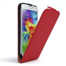 Tasche für Samsung Galaxy S5 / Neo Flip Case Schutz hülle Handy Cover rot