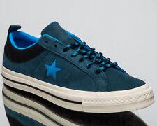 6a931dc63d6f Converse Men s One Star Ox Low Top Suede Shoes Blue Fir Black UK 8 eur